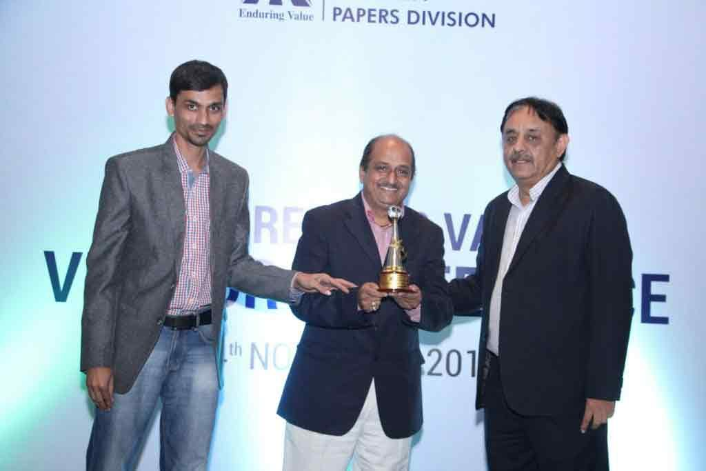award by itc for parason machinery pulp equipment