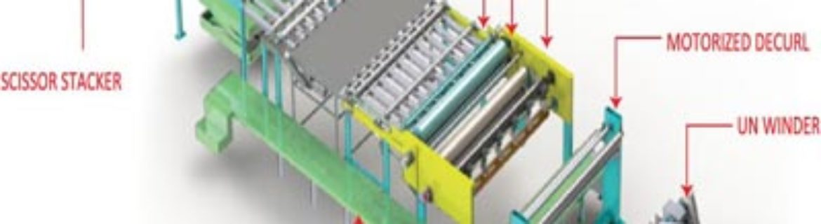 Synchronous Fly Sheeters paper machine