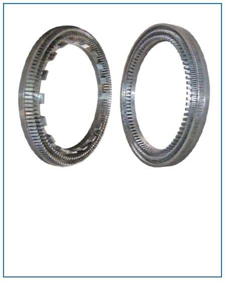 ring type deflaker discs