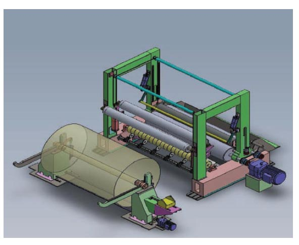 mill winders for paper machine