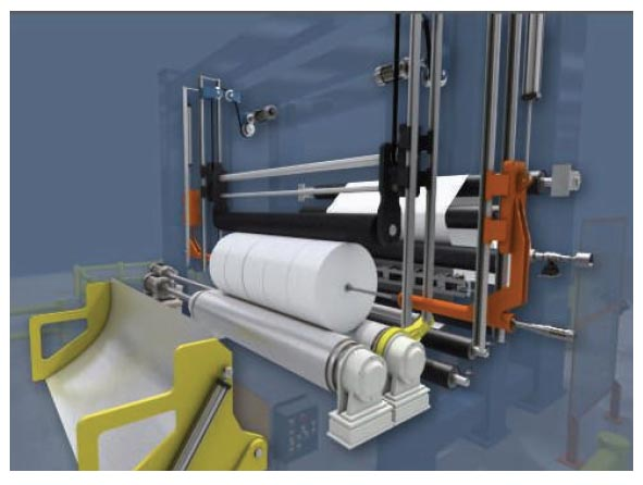 pope reel for paper machine