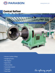 best conical refiner pulp paper mill