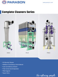 cleaners for pulp paper industry
