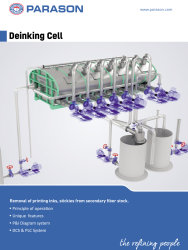 deinking cell system pulp paper