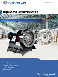 high speed deflakers series pulp paper mill