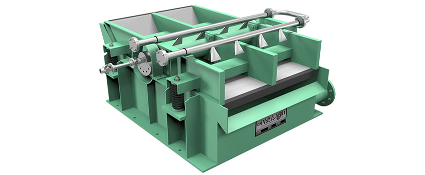 slotted vibrating screen pulp paper machine