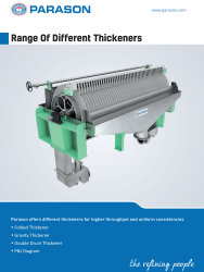 thickners for pulp paper industry