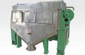 folded thickner for paper machine
