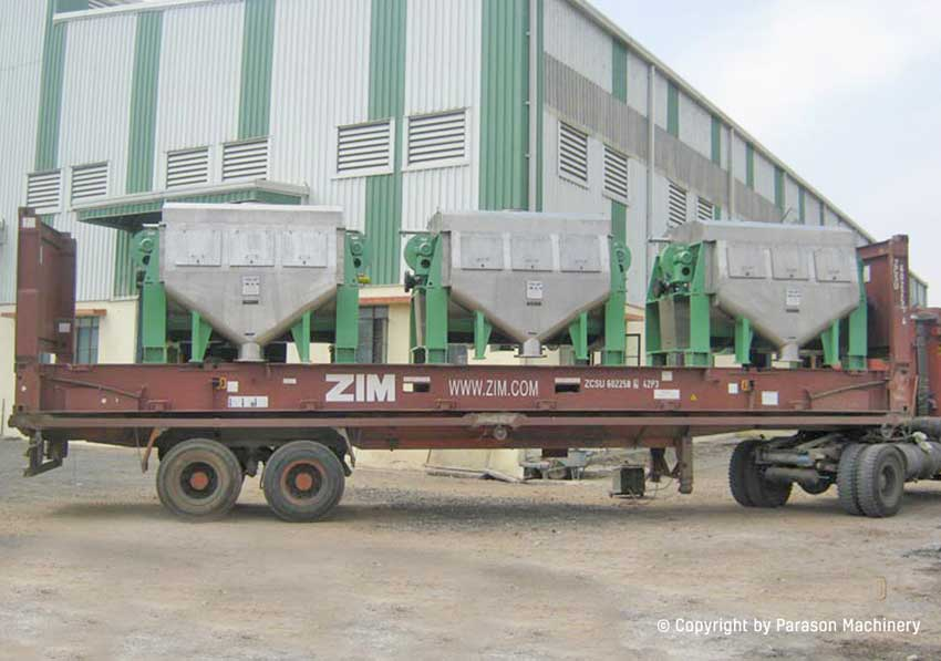 folded thickner paper machine export