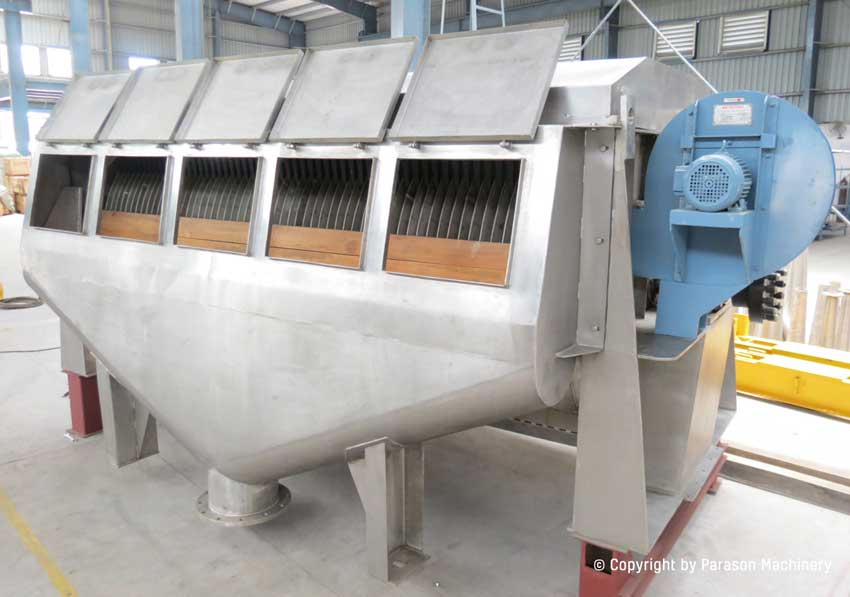 folded thickner paper mill machinery