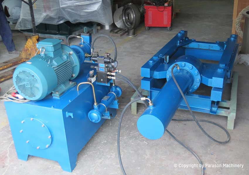 rope cutter parason hard cellulosic material pulping machine