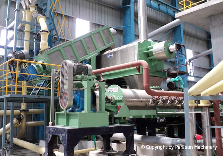 disperser system tissue paper machine