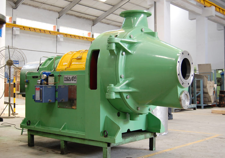paper machine solution for conical refiner