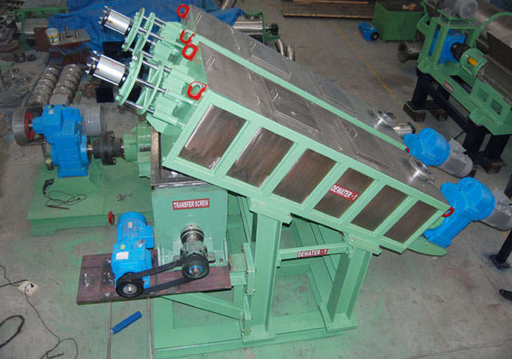 paper machine supplier hot disperser unit