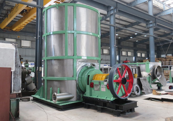 tank and pulverizer from paper machine manufacturer