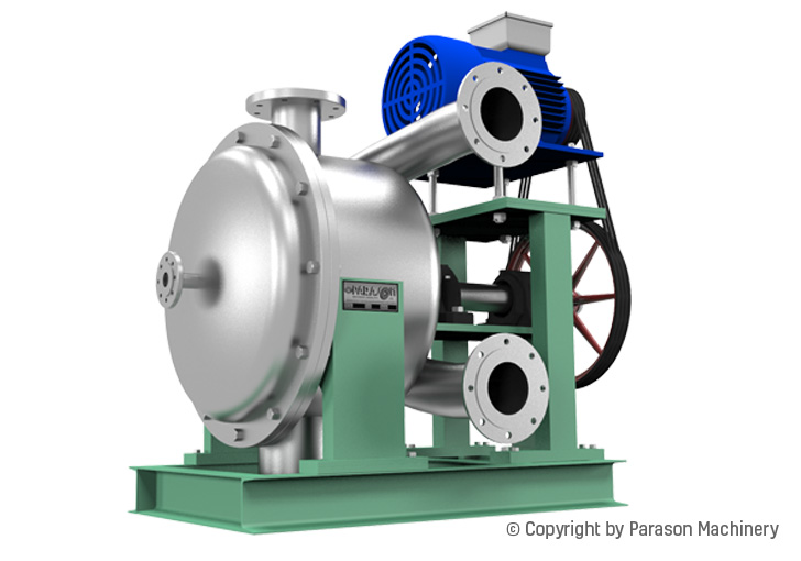 horizontal reject paper recycling machine