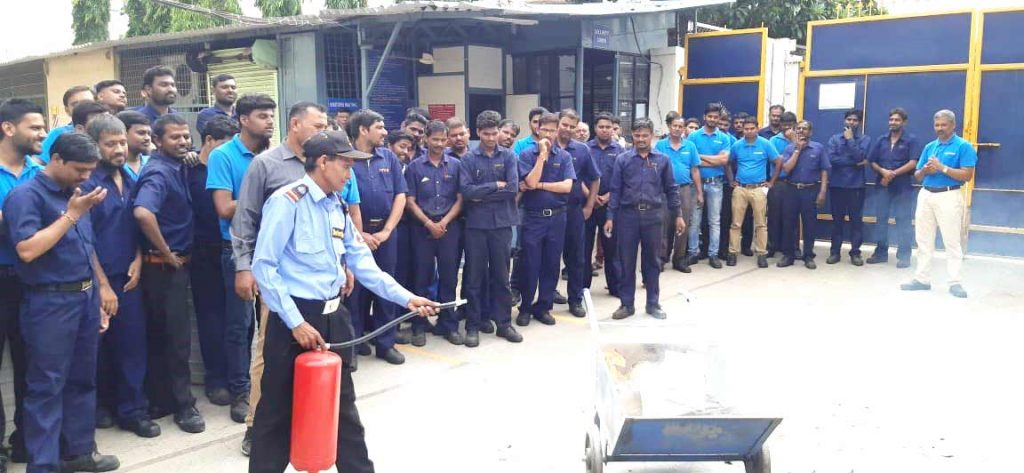 fire Safety training paper making machinery