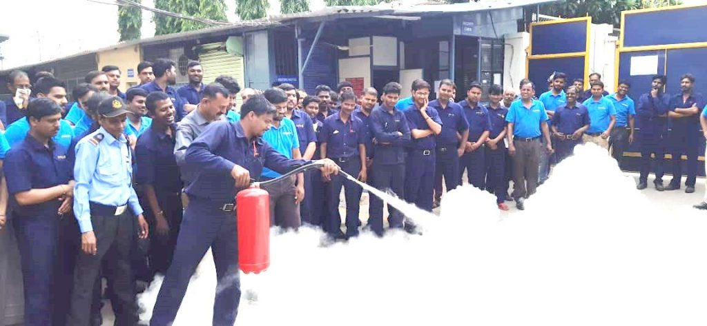 fire Safety training pulp making machinery