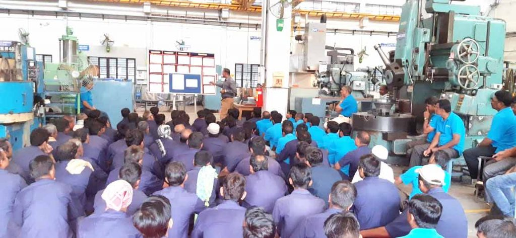 training-for-fire-safety-paper-machine-manufacturer