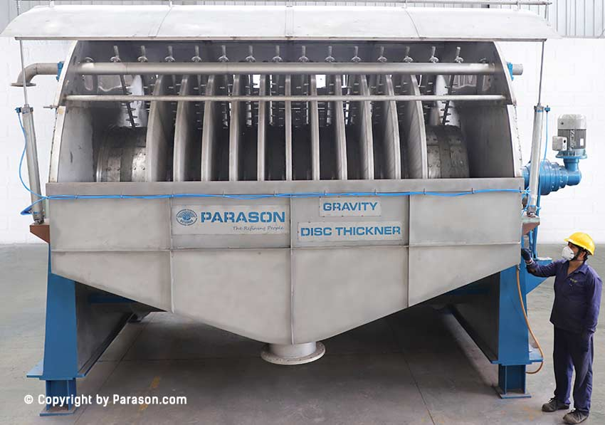 Gravity Thickner for Paper Pulp Mill