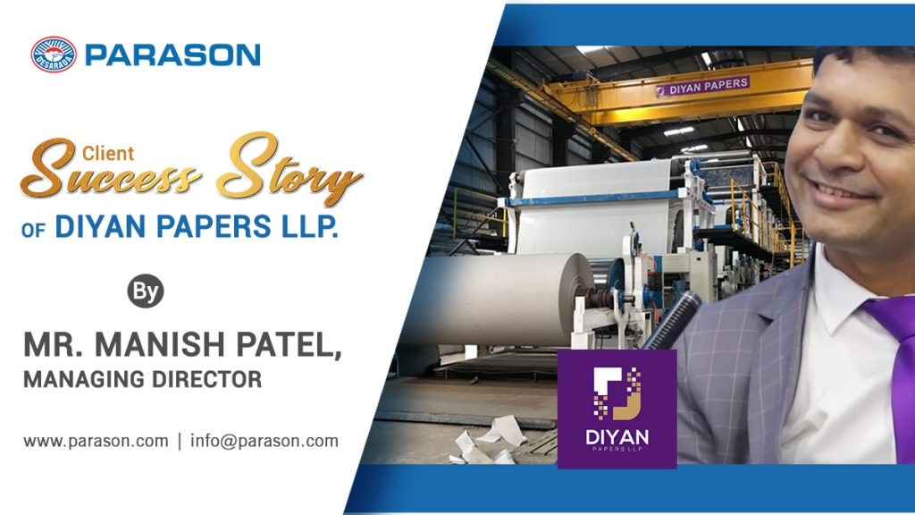 diyan paper mill success story by parason
