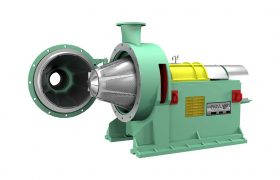 Conical Refiner for kraft paper mill