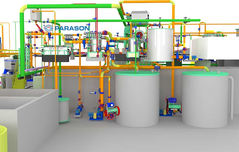 Tissue Paper Mill Machinery Capacity 30 100 TPD
