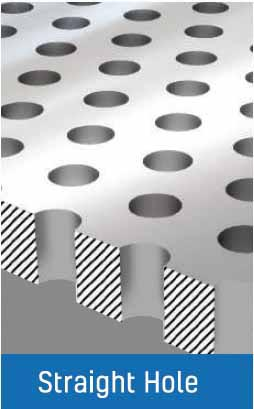 Isometric Straight Hole View