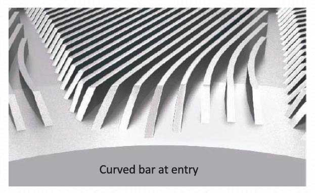 Parason Curved Bar Refiner Plate