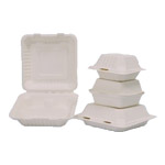 8 9 inch compartment clamshell 800 ml